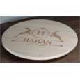 Personalised Wooden Lazy Susan