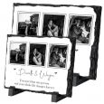 Personalised Our Wedding Day Collage on Irish Slate