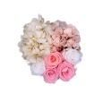 Year Long Lasting Fresh Pink and White Flower Box