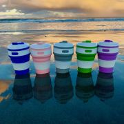 Pack of 6 Collapsible Reusable Coffee Eco Cups
