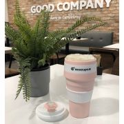 Reusable Collapsible Eco Coffee Cup 500ml