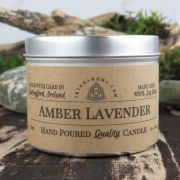 Handmade Irish Amber and Lavender Soy Candle
