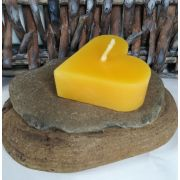 Heart Shaped Beeswax Candle Set