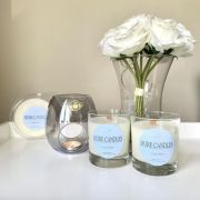 Mixed Scent Soy Candle Gift Set with different Wicks