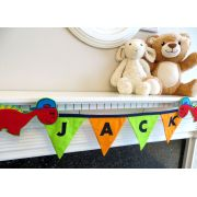 Personalised Dinosaur Kids Bedroom Bunting