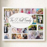 Personalised Family Photo Collage On Canvas