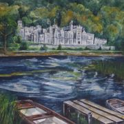 """Kylemore Abbey in Galway Limited Edition Print 8"""" x 10"""""""