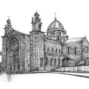 Limited Edition Fine Art Print of Galway Cathedral