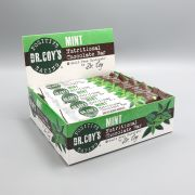 Box of Nutritional Mint Flavoured Chocolate Bars