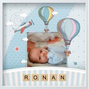 New Baby Boy Personalised Framed Photo Gift