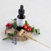 Anti-aging Serum and Facial Roller Beauty Gift Set