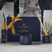 Burnt Amber and Patchouli Scented Luxury Calm Gift Set
