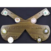 Hurling Medal Board Engraved with Personalised Details
