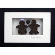 Handmade Bride and Groom Wedding and Engagement Personalised Gift