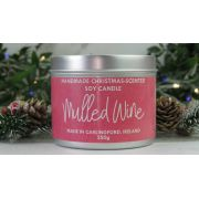 Spicy Mulled Wine - Handmade Soy Festive Candle