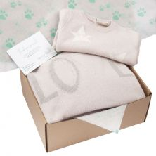 Newborn Baby Blanket & Baby Grow Gift Set