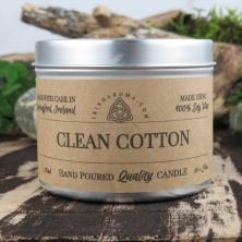 Handmade Clean Cotton Scented Soy Candle