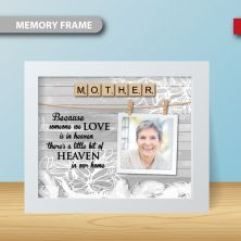Personalised Family Member Remembrance Photo Frame