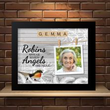 Personalised Framed Memory of a Loved One with a Photo