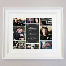 Personalised Your Life Was A Blessing Remembrance Framed Gift