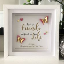 Personalised Best Friends Gift Frame