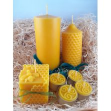 Luxury Beeswax Candle Gift Set