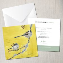 Long-Tailed Tit Greeting Card