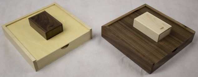 Personalised Wooden USB and Box