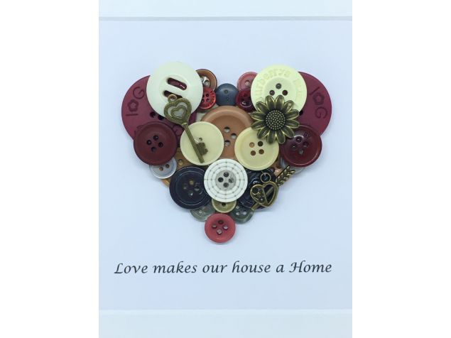 New Home Personalised Frame Gift
