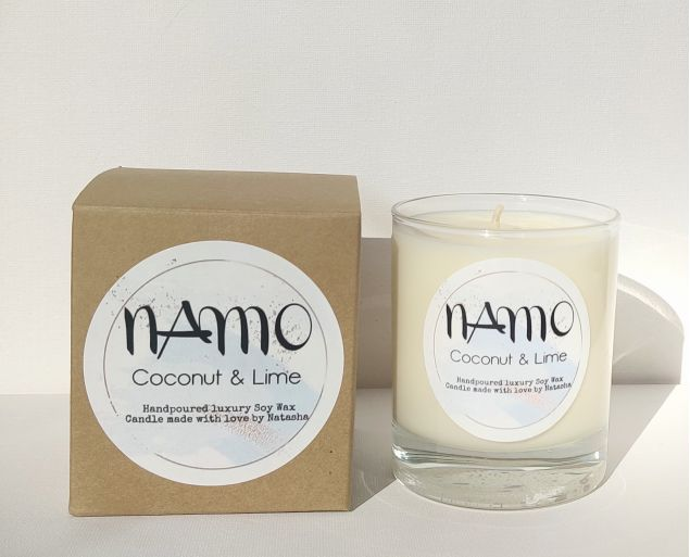 Irish Made Coconut and Lime Soy Candle