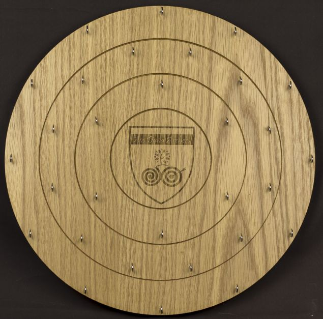 Personalised Wooden Archery Medal Board