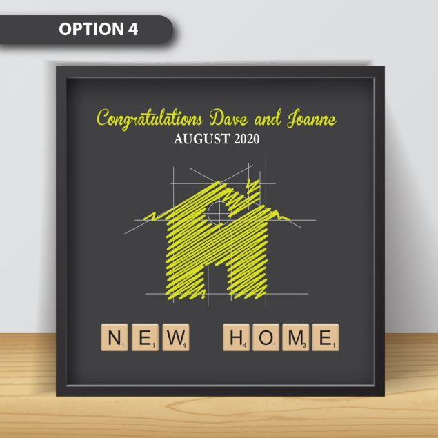 Personalised New Home Picture Frame Gift