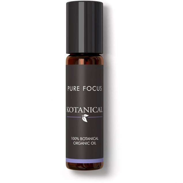 Pure Focus Rollerball with Fresh and Herbal Notes