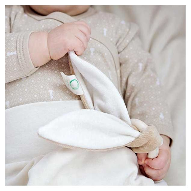 Newborn Organic Teether Bunny Ears