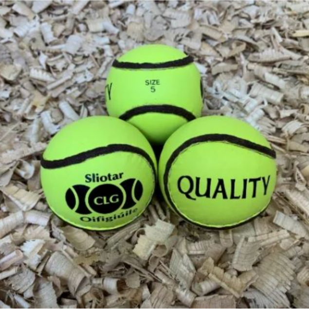 Pack of 12 Size 5 Luminous Sliotars