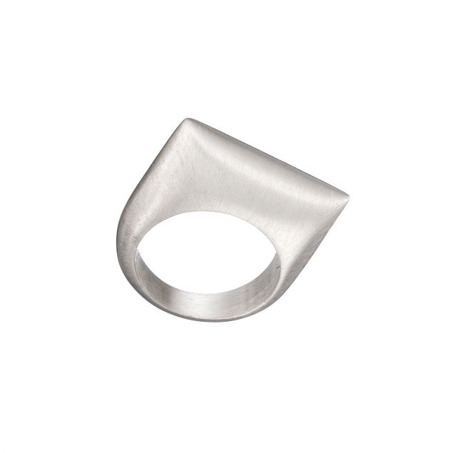 Cushion Sterling Silver Ring
