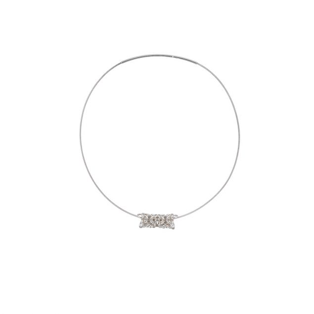 Electron Libre Sterling Silver Necklace