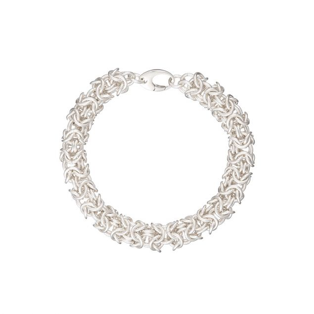 Turkish Sterling Silver Chainmail Bracelet