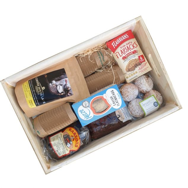 A Taste of Waterford Irish Food Hamper with Gin and Ale