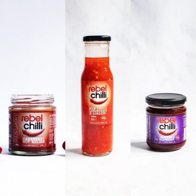 Spicy BBQ Sauce Jam and Relish Selection