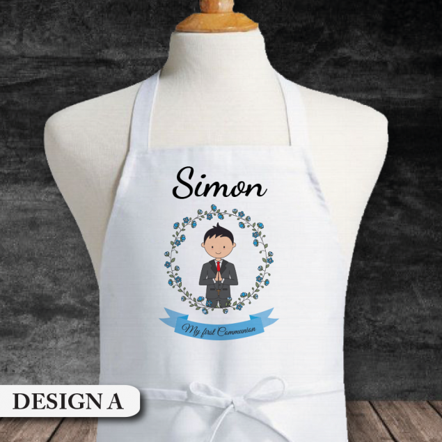 Personalised First Holy Communion Apron Gift