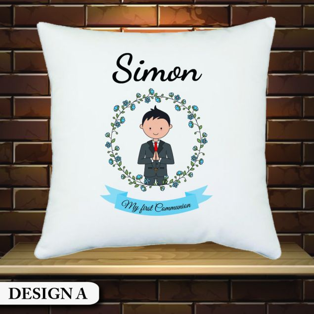 Personalised First Holy Communion Cushion Gift
