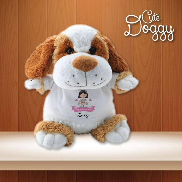 Personalised First Holy Communion Soft Teddy Gift