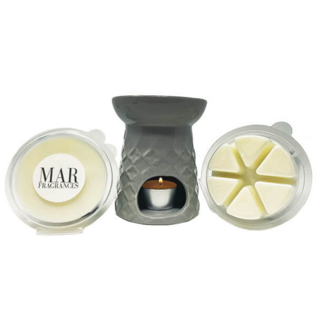 Aileen Burner Fragrance Gift Set with 2 Wax Melts