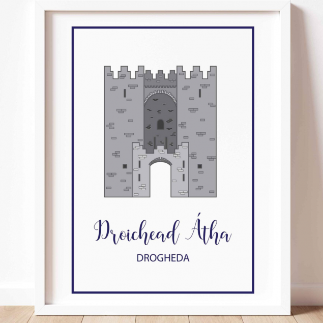 Laurence's Gate in Drogheda A3 Print