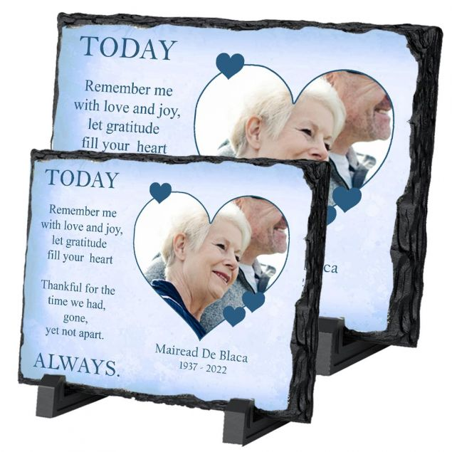 Personalised Remembrance in Your Memory on Irish Slate