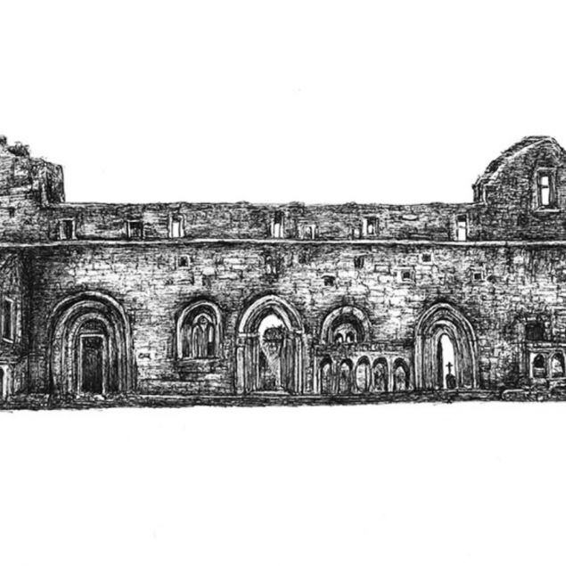 Cong Abbey in Mayo Limited Edition Fine Art Print