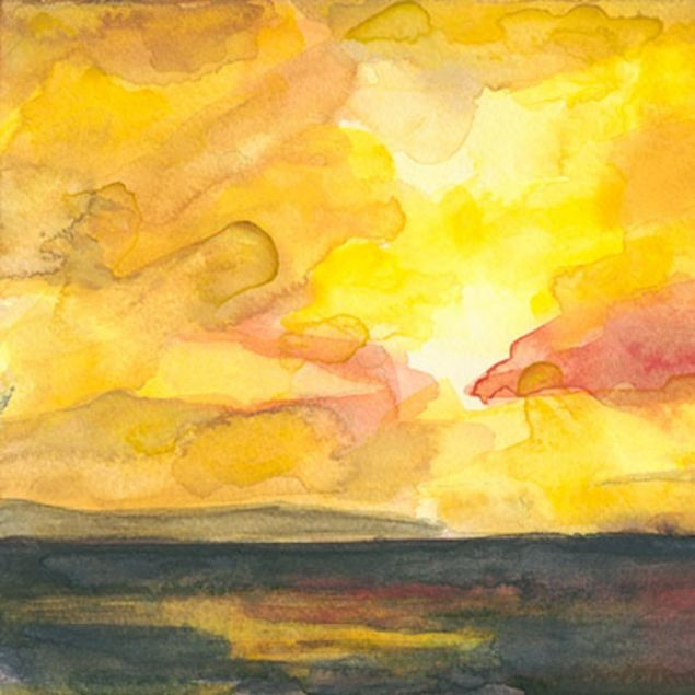 Golden Galway Bay Sunset Limited Edition Print