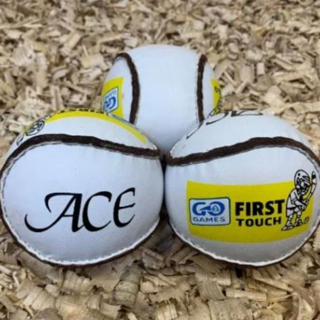 Pack of 6 or 12 First Touch Sliotars for Children