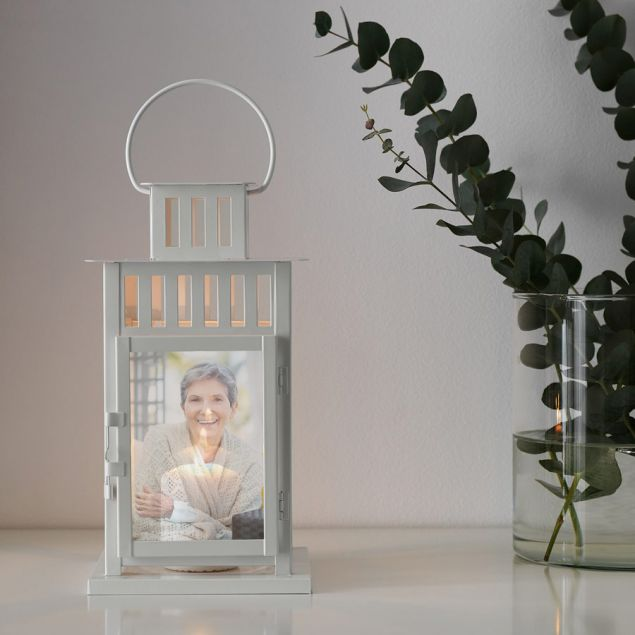 Personalised Memory Lantern for a Loved One